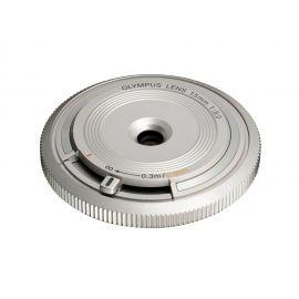 Olympus M.Zuiko 15mm f/8.0 Body Cap Lens Silver