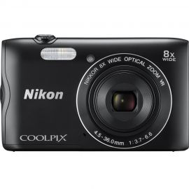 Nikon Coolpix A300 Black Digital Compact Camera