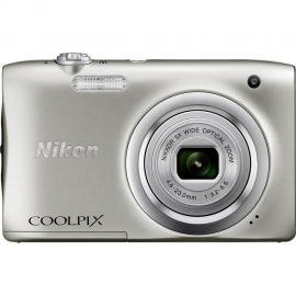 Nikon Coolpix A100 Silver Digital Compact Camera