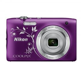 Nikon Coolpix A100 Pattern Purple Digital Compact Camera