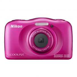 Nikon Coolpix W100 Pink Digital Compact Camera